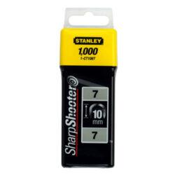 STANLEY 1-CT106T Spony balení 1000ks 10mm typ-C-Sponky na kabely