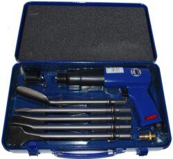 METABO 0901009210 MHS 450 Kladivo sekací pneu  Set-Sekací kladivo 4-6bar 3300 úderů/min Metabo MHS 450 set
