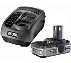 RYOBI BLK18151 Akumulátor 18V 1,4Ah Li ONE+-Ekonomická startovací sada s lithium iontovou baterií.