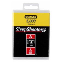 STANLEY 1-TRA205-5T Spony LD balení 5000ks 8mm typ-A-LD sponky typ A 5/53/530