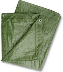 LOBSTER 102226 Plachta zakrývací zelená 5x8m 80gr