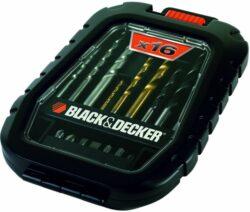 BLACK DECKER A7186 Sada vrtáků a nástavců 16dílná-16-dílná sada vrtáků a bitů