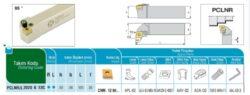 Nůž PCLNR 2020 K 12 C AKKO-Soustružnický držák VBD PCLNR 2020 K 12 C