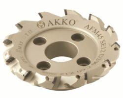 Fréza AFM45-SE12-D63-A22-Z05-H AKKO-Fréza nástrčná čelní 45° AKKO MAKINA -typ AFM45 SE..12T3 pr. 63mm, Z 5