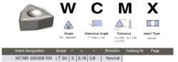 LAMINA Destička WCMX 050308 NN LT 30