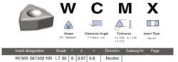 LAMINA Destička WCMX 06T308 NN LT 30