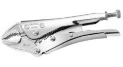 EXPERT E084807 Kleště samosvorné oblé 140mm-Upínací kleště s oblými čelistmi 140mm