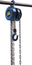 SCHEPPACH CB 01 Kladkostroj ruční řetězový 1000kg 3m-Ruční řetězový kladkostroj SCHEPPACH CB 01