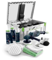 FESTOOL 570804 Leštička RAP 150 FE SET SHINEX - Rotační leštička Set Automotive