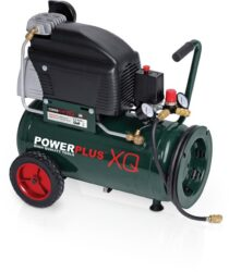 POWER PLUS POWXQ8105 Kompresor olejový 24L 1600W 250L/min 10bar - Kompresor 2,5HP 24 litrů