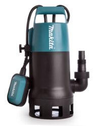 MAKITA PF1010 Čerpadlo kalové 240l/min 1100W-Ponorné čerpadlo vhodné pro velmi znečištěnou vodu s obsahem pevných částic až do průměru 35 mm