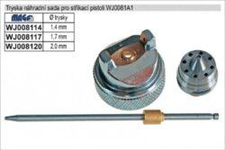 MAGG WJ008117 Sada tryska jehla 1,7mm-Sada jehla, vzduchový uzávěr, tryska
