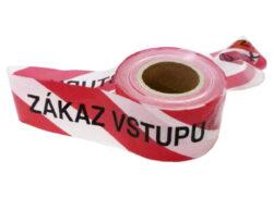 """LOBSTER 108120 Výstražná páska 250m """"ZÁKAZ VSTUPU"""""""