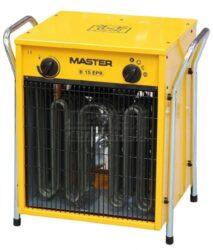 Topidlo elektrické s ventilátorem 7,5/15kW 400V MASTER B15EPB-Elektrické topidlo s ventilátorem