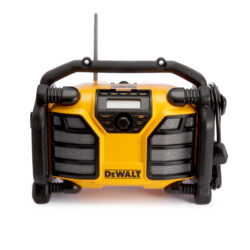 DEWALT DCR017-QW Aku přenosné rádio 10,8-18V USB (bez akumulátoru)-Aku i síťové rádio / nabíječka DAB / FM USB
