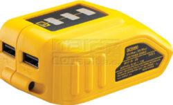 DEWALT DCB090-QW  Nabíječka USB zařízení z akumulátoru 10,8-18V-Nabíječka USB zařízení z akumulátoru 10,8-18V