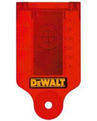 DEWALT DE0730 Terčík zvýrazňovací s magnetem pro lasery červený