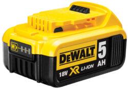 DEWALT DCB184-XJ Akumulátor 18V 5,0Ah Li-ion                                    -Akumulátor 18V 5,0Ah Li-ion