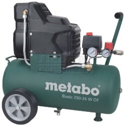 METABO 601532000 Basic 250-24 W OF Kompresor bezolejový - Kompresor bezolejový Basic 250-24 W OF