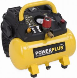 POWER PLUS POWX1721 Kompresor bezolejový 1100W 8bar 6L-Kompresor bezolejový 1100W 8bar 6L