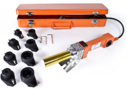 Polyfúzní svářečka souprava 800/1000W TUSON POLY02-Spolehlivá a výkonná svářečka pro svařování plastových trubek.