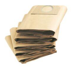 LOBSTER 660012 Sáček filtrační (5ks) papír METABO/BOSCH ASR 2050/GAS50-Filtrační sáčky vhodné pro:  METABO typ ASR 2050 BOSCH typ GAS 50