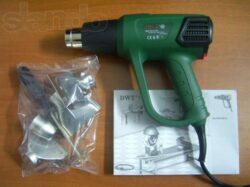 DWT HLP20-600 K Pistole horkovzdušná 2000W 50-600°C-Pistole horkovzdušná 2000W 50-600°C