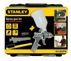 STANLEY 161132XSTN Pistole stříkací pneu HVLP s příslušenstvím-Pistole stříkací pneu HVLP s příslušenstvím