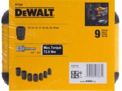 DEWALT DT7507 Sada průmyslových hlavic 9dílů(7895728)