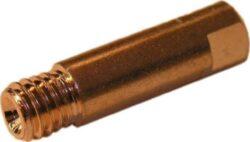 MAGG SVND-H01-3 Průvlak pro hořáky M6-0,6mm CO 3ks-Průvlak pro hořáky, závit M6 - 0,6 mm, 6x25 mm, Cu,3ks