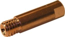 MAGG SVND-H04-3 Průvlak pro hořáky M6-1,0mm CO 3ks-Průvlak pro hořáky, závit M6 - 1,0 mm, 6x25 mm, Cu,3ks