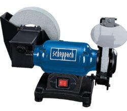 SCHEPPACH BG 200 W Bruska dvoukotoučová 150/200mm 250W-Bruska na suché i mokré broušení