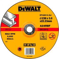 DEWALT DT42610 Kotouč řezný 230x3mm vypouklý-Řezný kotouč na kov Extreme, vypouklý 230 x 3 mm