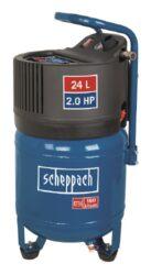 SCHEPPACH HC 24 V Kompresor bezolejový 24L 1500W 180L/min 10bar-Kompresor bezolejový 24L 1500W 180L/min 10bar