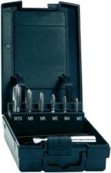 TOOLCRAFT 813035 Sada bitových závitníků HSS M3-M10 (7dílná) EXACT 05937-Sada strojních bitových závitníků HSS M3-M10 Exact 3126