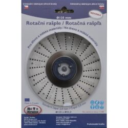 MAGG ROTO12520 Rotační rašple standard 125x22,2x2,0mm pro úhlové brusky-Rotační rašple standard 125x22,2x2,0mm pro úhlové brusky