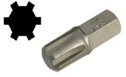 "Bit RIBE M8 (E6,3mm 1/4"") KS TOOLS 911.5264"