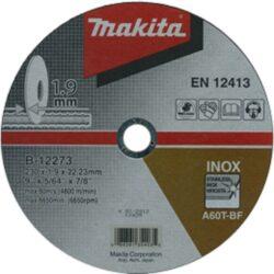 MAKITA B-12273 Kotouč řezný nerez 230x1,9x22 A60T-BF-Kotouč řezný nerez 230x1,9x22 A60T-BF