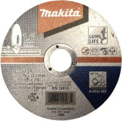 Kotouč řezný kov 125X1,6X22,23 MAKITA B-35134