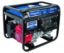 SCHEPPACH SG 3500 Elektrocentrála 3000/2800W 2x230V AVR-Elektrocentrála 3000/2800W 2x230V AVR motor Honda