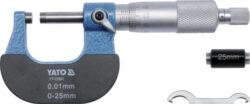 YATO YT-72301 Mikrometr třmenový 25-50mm 0.01mm-Mikrometr třmenový 25-50mm 0.01mm