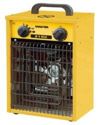 Topidlo elektrické s ventilátorem 2,5/5,0kW 400V MASTER B5ECA-Topidlo elektrické s ventilátorem 2,5/5,0kW 400V