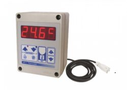 Termostat pokojový elektronický THD kabel 10m MASTER 4150.107                   -Termostat pokojový elektronický THD kabel 10m