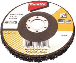 MAKITA B-28983 Kotouč porézní vybrušovací na barvu 125x22mm-Kotouč porézní vybrušovací na barvu 125x22mm