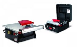 RUBI 25945 Řezačka obkladů 180mm 550W v kufru + 2ks kotouče ND 180-Řezačka obkladů 180mm 550W v kufru + 2ks kotouče