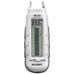 VOLTCRAFT 100842 Měřič vlhkosti dřeva a stavebních materiálů FM-200-Měřič vlhkosti dřeva a stavebních materiálů do max 85% vlhkosti.