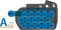 NAREX 65405332 Akušroubovák rázový 60V 2x3,0Ah 1690Nm ASR 600-3HTB TL BRUSHLESS(7914279)