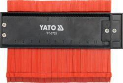 YATO YT-3735 Šablona na profily 125mm magnetická-Šablona na profily 125mm magnetická