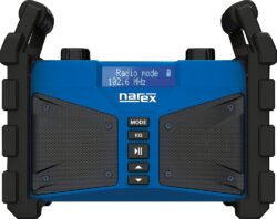NAREX 65405613 Rádio na stavbu s powerbankou BT 02 (FM, AUX, USB, Bluetooth)  (7915521)