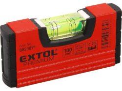 EXTOL 8823891 Vodováha kapesní 100mm-Vodováha kapesní 100mm